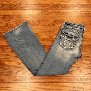 Big Star Sweet Ultra-Low Rise Boot Cut size 25S